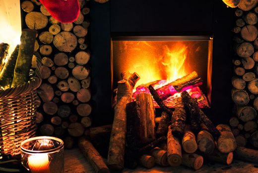 firewood 520x350 - 3 Ways to Save Power When Heating Your Home