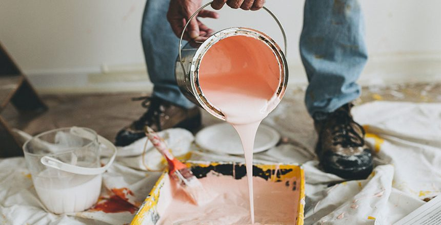 paint 860x440 - 5 Common Renovation Mistakes You Must Avoid